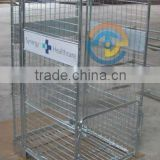 medical rolling cart, rolling display cart, supermarket cage cart, warehouse rolling cart
