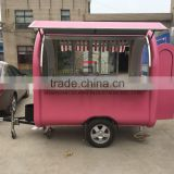 SHANGHAI SILANG mobile food trailer Can be customized Various styles used food trucks food cart