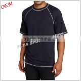 100% Polyester Jersey Crew Neck Blank Men's Short-Sleeve T-shirt Factory Direct Sale Price Sport T Shirt