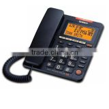 Uniden AS7409 - Big Button & Backlit LCD Display, Phone Book memory, Message Waiting Lamp, 99 phone book Memory Corded Phone