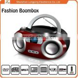 portable boombox CD player support bluetooth usb