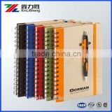 Custom made Wholesale promotional notebook printing ; all kinds of notebooks manufacturer