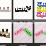 2014 Big Prompt !!!! TS-8 Orthodontic Straightening Pad Toes Hammer Sub-toe Toe Separator Nail Art Tools #45