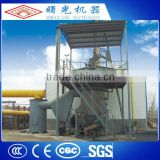 High efficiency one stage gas melting furnace