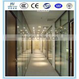 Sell glass partition for kitchen ,living room toughened glass partition