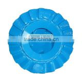 Centrifugal slurry pump steel blade/vane wheel impeller