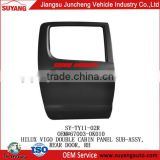 toyota hilux vigo double cabin replacement car doors car doors for saleOEM#67002-06140 /67001-06140