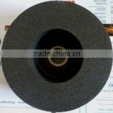 black silicon carbide polishing grinding stone wheel with M14