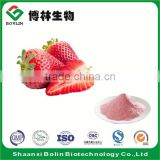 Organic Fresh Strawberry Powder Freeze Dried Strawberry Fruit Flavor Powder