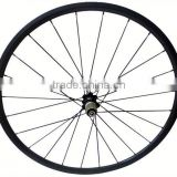 High quality 700c road bicyle for clincher or tubular carbon wheelset bullet alloy wheels
