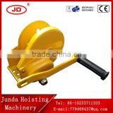 China brake hand winch mini hand winch hand operated brake winch for sale