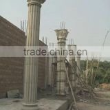 Various High Quality Pillar Design Roman Column mold/ huiou High Quality Column Head Mould