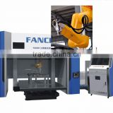 Robot fiber laser 3d cutting machine 5 axis for automobile, aerospace aviation industry