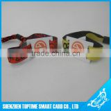 custom event fabric rfid wristbands price