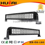Manufacturer high power rechargeable battery operated led light bar for truck atv boat,curved led light bar