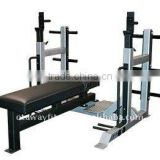 commercial fitness equipment body building machine/weight bench press/rugby team training sled machine