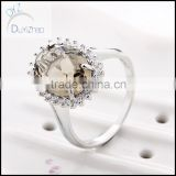 Hot jewelry rings for ladies, beautiful wedding brass rings design