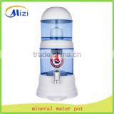 Mineral pot on the water dispenser Ceramic activated carbon water purifier
