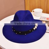 New arrival promotional 56-58cm felt hand made hat