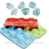 Best selling Flexible and Durable Silicone ice diamond maker Custom Silicone Ice cube trays