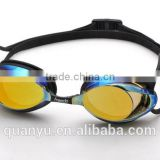 The Best Seller professional Anti-fog Mirror coated Competition swimming Goggles for racing