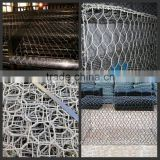 (manufacturer) 2*1*1m Gabion Basket with best price/PVC coated/Galvanized heavy gabion box