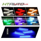 HTAUTO China Car Accessories Shops Universal Led Light Car Bulb RGB Led Strip Led Flexible Strip Foot Light