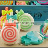oem plastic contact lenses box,candy shape contact lenses box,korea contact lenses cartoon box