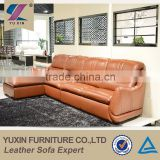 top grain cheers leather sofa furniture,orange pvc leather sofa
