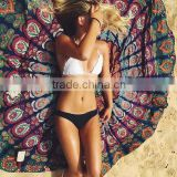 Z56881B new product hot selling bulk cheap wholesale sexy round beach towels                                                                         Quality Choice
