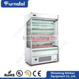 China Refrigeration Equipment Supermarket Showcase Used Refrigerator Refrigerators