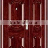 lastest modern steel doors metal frame security steel doors exterior security steel door for apartment