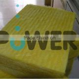 density 10-100kg/m3 yellow thermal insulation glass wool board for wall made in china