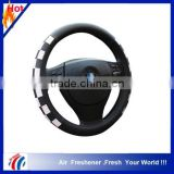 2015 new design fashion 13 inch steering wheel cover                                                                         Quality Choice
