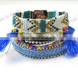 Fashion Paracord Tassel new Trends Bracelets bead Jewelry
