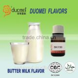 Butter milk flavor liquid fragrance oil based flavor artificial food grade flavor for bakery