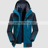 Three in one set flacce warm jacket breathable & waterproof outdoor jacket windbreakers jakcet mens