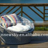 Lounger Sofa Rattan Bean Bag Wicker Cozy Happy Cat Vana                                                                         Quality Choice