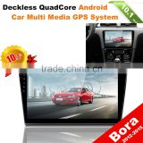 car use radio dvd gps navigation android car dvd headunit for VOLKSWAGEN BORA with 10 inch screen
