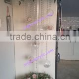 shanghai event rental banquet acrylic table decorative centerpiece(without flowers)