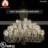 Baccarat Style Luxury Big Crystal Chandelier for Interior Decoration
