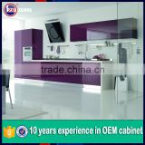 modern lacquer kitchen cabinets/UV or acrylic modular kitchen design for kitchen furniture acrylic sheets for kitchen cabinets