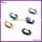 316L Stainless Steel Cartilage Self Piercing Hoop Earrings