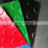 plastic checkered non-slip pvc sheet floor