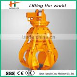 Hydraulic Orange Peel Rotating Grapple With 5 Teethes