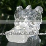 Beautiful Natural Clear Quartz Crystal Carved Dragon/Christams Gifts