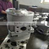 WA470 hydraulic gear pumps 705-22-40110 commercial hydraulic gear pump pto gear pump for dump truck