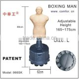 boxing equipment training standing punching bag punching man dummy with adjustable height