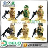 chinese promotional items plastic toy army soldiers building blocks miniature people DE0084007