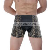 Cheapest Milk silk printed mens Boxer shorts Customized XXXL Size Printed Men's Boxers